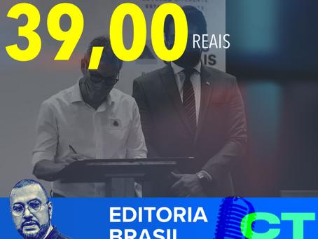 Zema vai dar 39 conto de auxílio. O Brasil do NOVO.