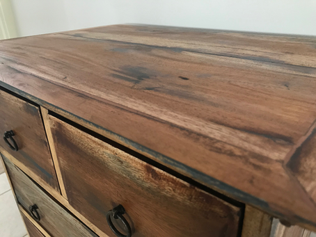 Lessons learnt from restoring a bedside table.