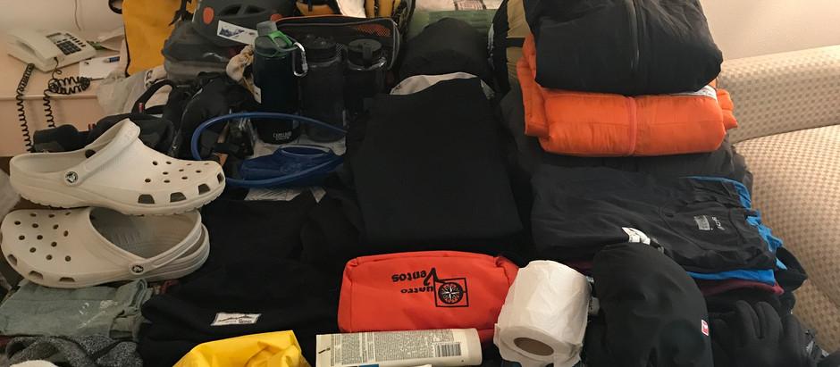 Expedição Sajama: Equipamentos