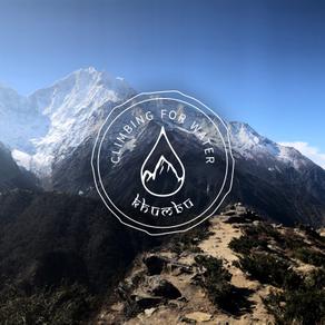 Climbing for Water Khumbu