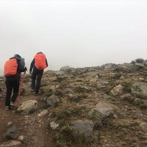 Trekking Cordón del Plata - Últimos dias
