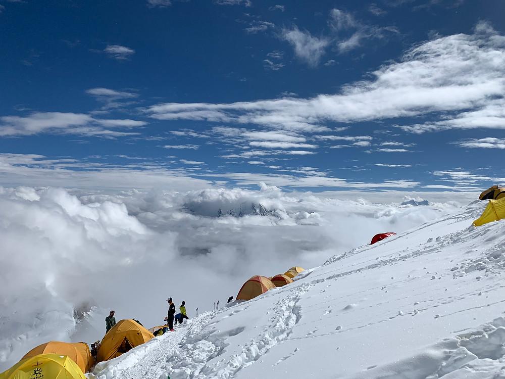 Campo 3 do Manaslu 6600m