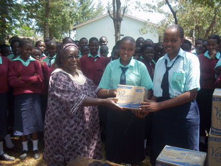 Sanitary pads for the girl child