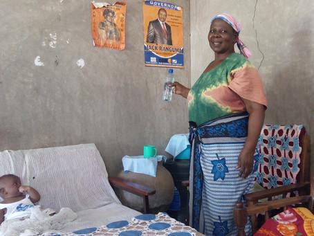 Women Tackle Household Drinking Water in Rural Kenya.
