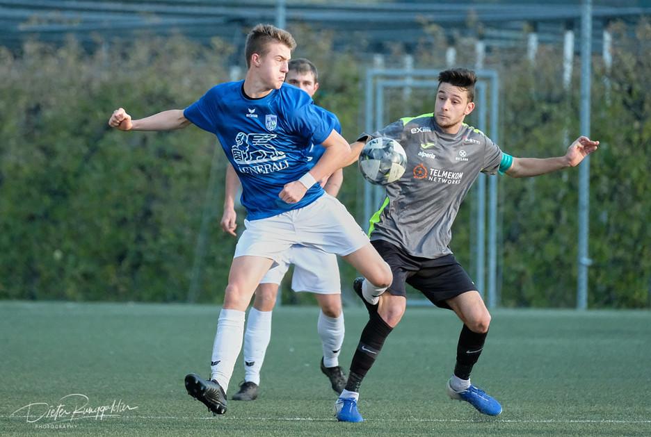Spiel gegen St. Martin Moos