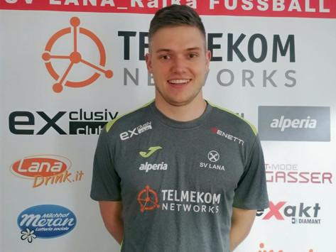 Alexander Nischler ist rot-weiß