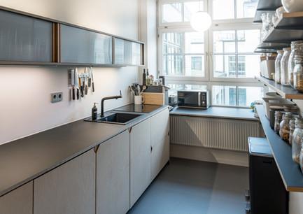 Offene und funktionale Küche