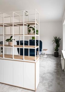 Nachhaltiger Material-Mix im Office