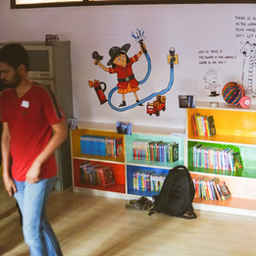 Reading Space in Chandapura, Bangalore