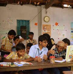 Reading Buddies in Kochi