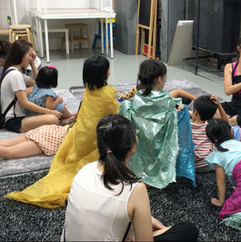 World Read Aloud day celebrations with Playeum, Singapore