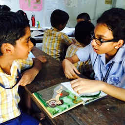 Reading Buddies in Kochi