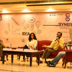 At Synergy, St.Xaviers College, Jaipur