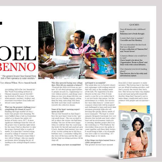 Forward Magazine, January 2015