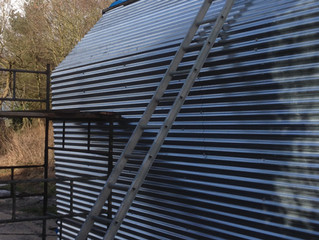 The Tiny House Roof Apex/Skylight Shade