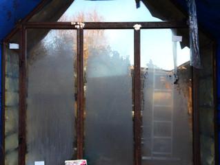 Shepherd Hut Verander