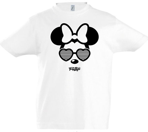 Minnie lunettes coeur