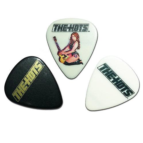 The Hots guitar picks