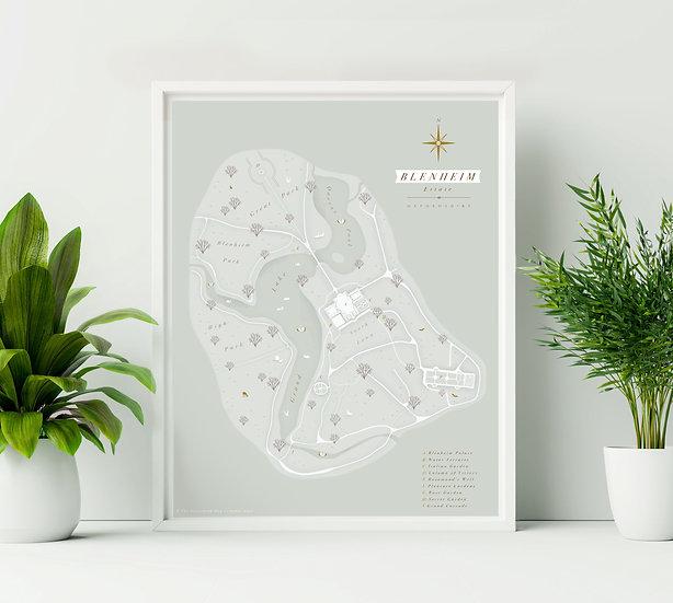 Blenheim Palace print