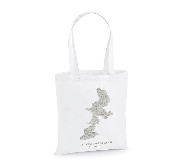 Northumberland National Park Tote Bag