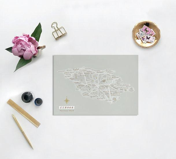 Exmoor National Park Greeting Card