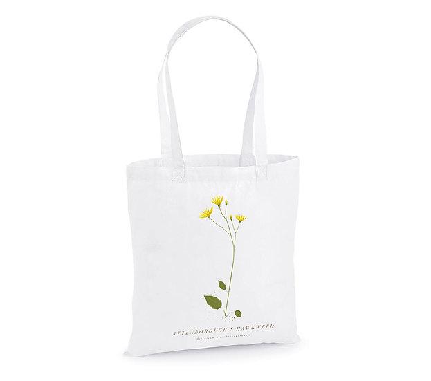 Attenborough's Hawkweed Tote Bag