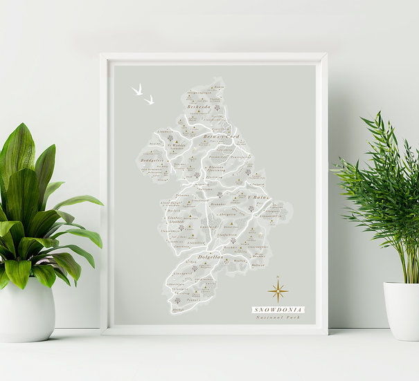 Snowdonia National Park Print