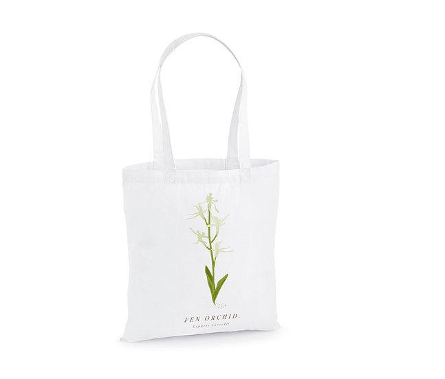 Fen Orchid Tote Bag