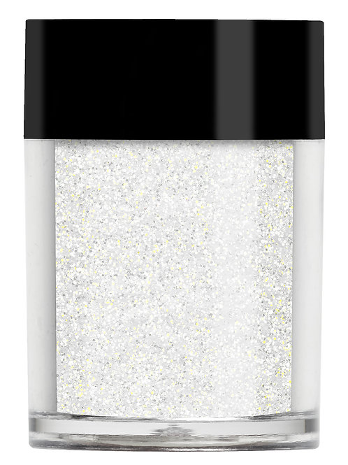 Golden White Iridescent Glitter