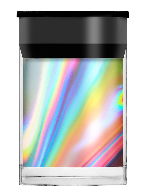 Silver Holographic Shimmer Film