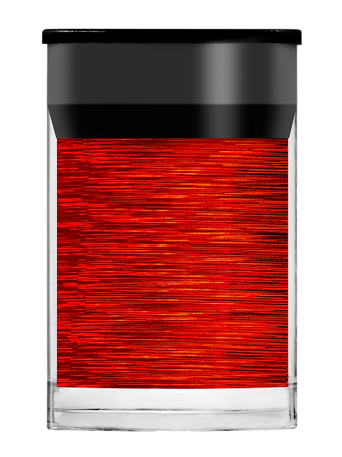 Red Holographic Lines Foil