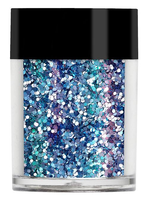 Aquamarine chunky glitter