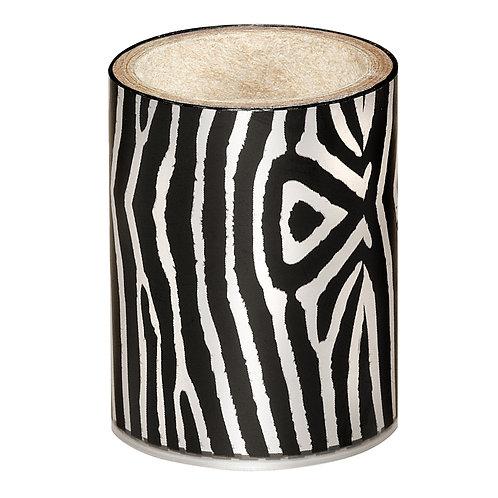 Silver Zebra Nail Foil