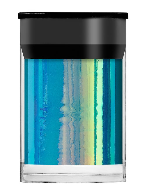 Blue Opalescent Shimmer Film