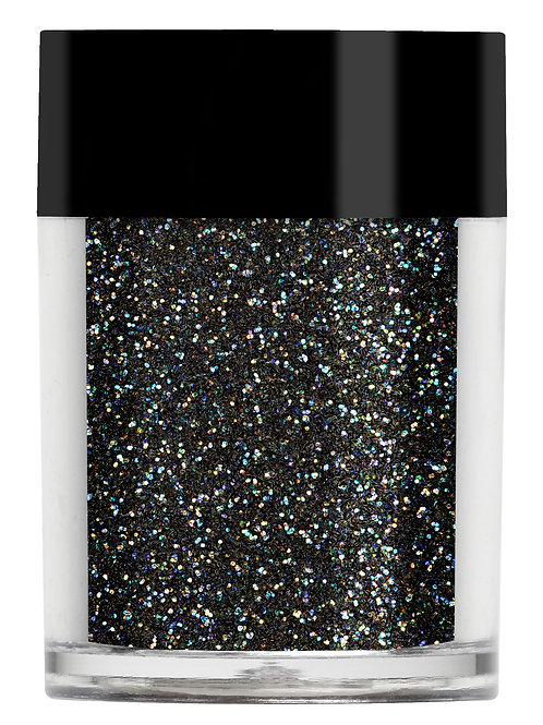 Rainbow Black Iridescent Glitter