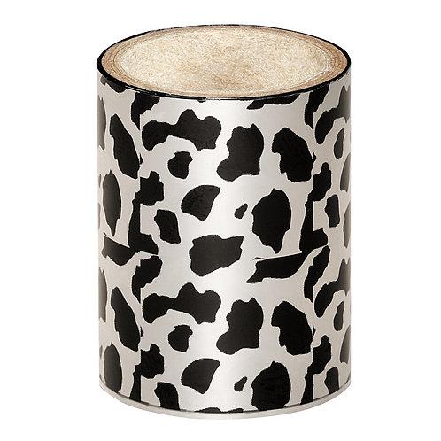 Silver Cow Nail Foil