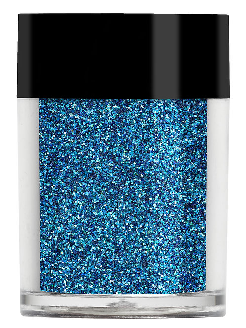 Indigo Blue Iridescent Glitter