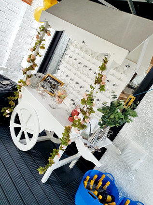 Prosecco Wall Cart