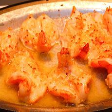 Broiled Shrimp with Lemon & Garlic Sauce