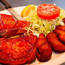Fried Pork Chops with Sweet Plaintains (Chuleta Frita con Maduros)