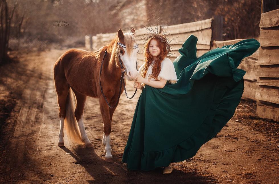 Фотосессия с Тамарой Дмитриевой