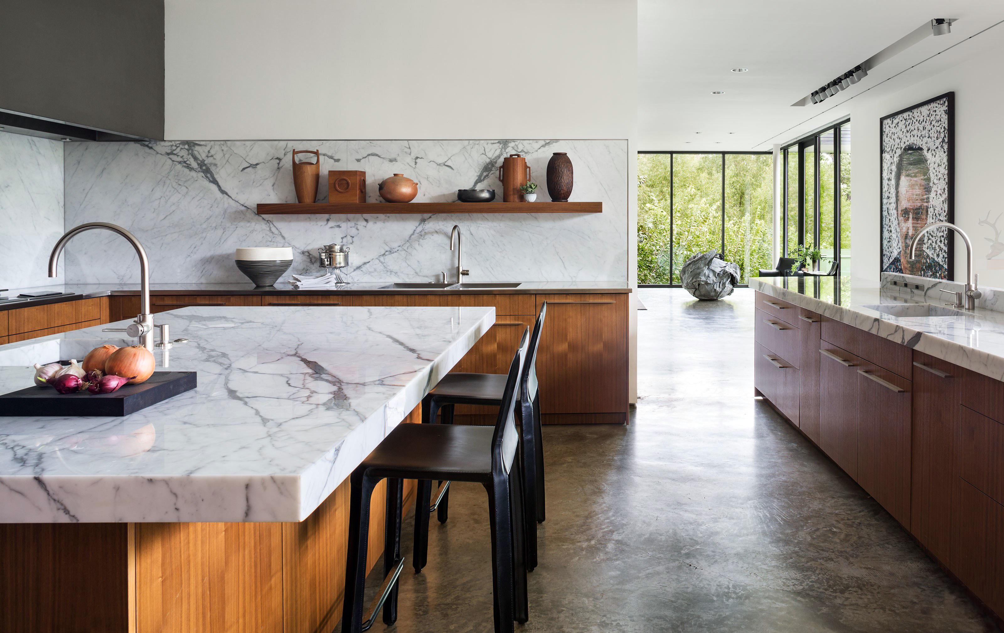 Cararrai márvány konyhapult