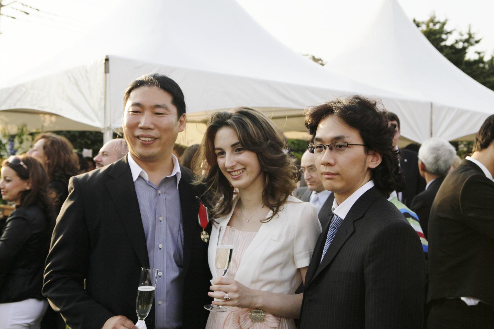 크리스티나와 남편 현준씨