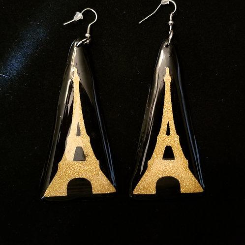 Gold Paris Earrings