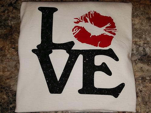 Love T-shirt by Paris Renea'