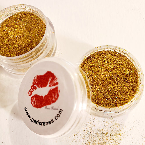 Yellow Gold Cosmetic Glitter