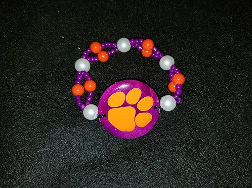 Clemson Bracelet 2