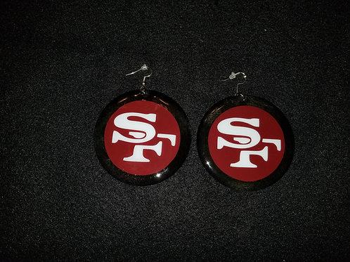 49ers Earrings