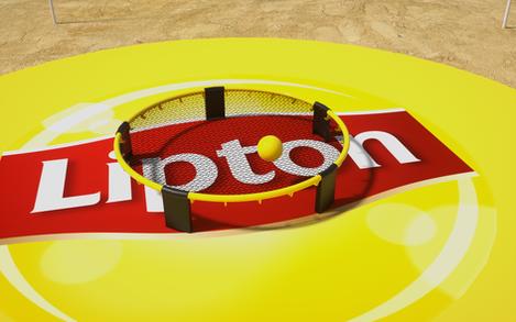 Lipton Street Promo Beach Games Setup 03