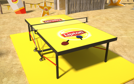 Lipton Street Promo Beach Games Setup 04